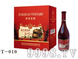 欧亚庄园橡木桶窖藏干红葡萄酒