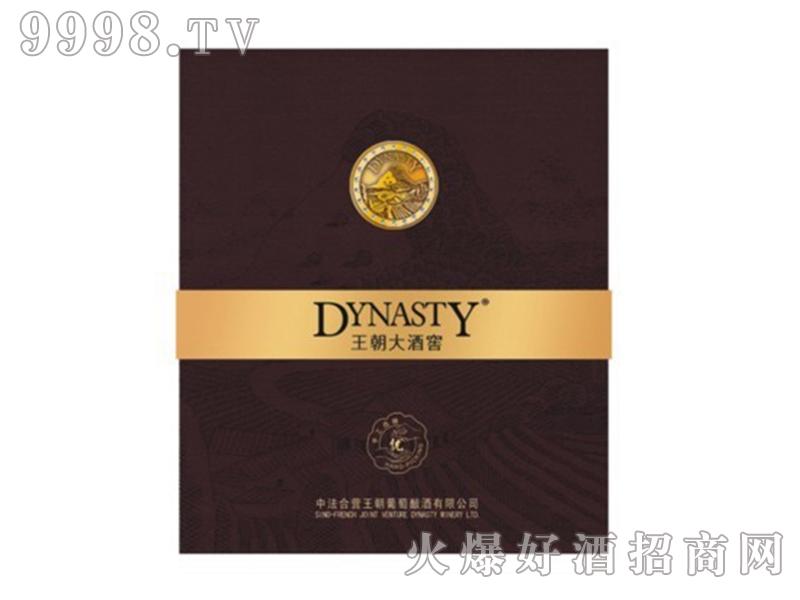 王朝大酒窖优级像木桶干红双支礼盒