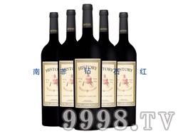 南非钻石红-传奇红桃路易干红葡萄酒