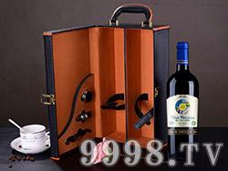 蓝图匠心优选有机干红葡萄酒双支礼盒