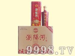 浏阳河酒・红色铁盒