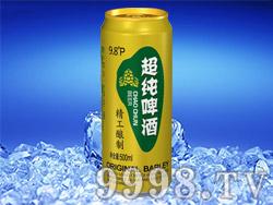 惠宁湖超纯啤酒(金罐)