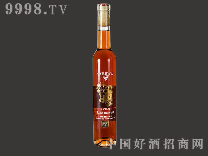 师樽酒庄赤霞珠晚摘甜红葡萄酒2012