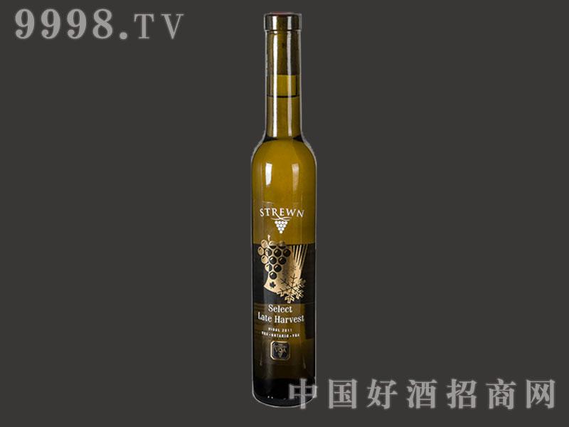 师樽酒庄维岱尔晚摘甜白葡萄酒2011