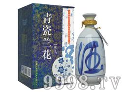 青瓷兰花酒・国花