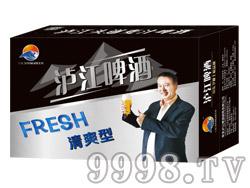 泸江啤酒10°330ml