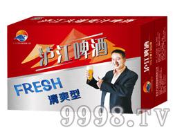 泸江啤酒8°330ml(红)