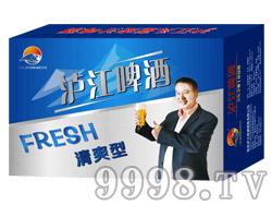 泸江啤酒8°330ml(蓝)