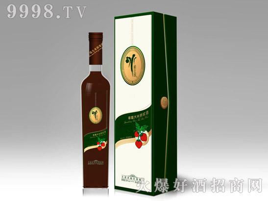 米浆百变酒草莓酒
