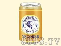 依格尔啤酒330ml罐装