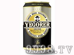 依格尔黑罐啤酒
