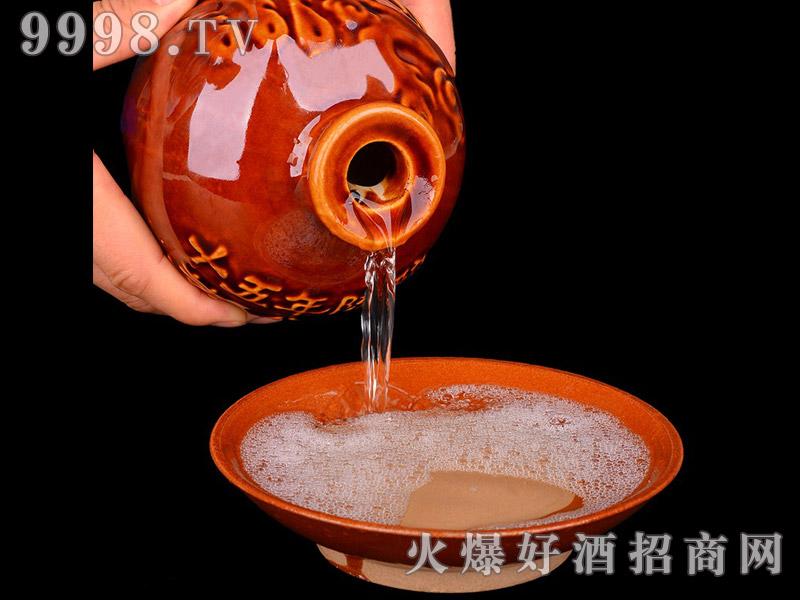 茅台镇 任意门 竹篮酒1斤与3斤(窖藏)