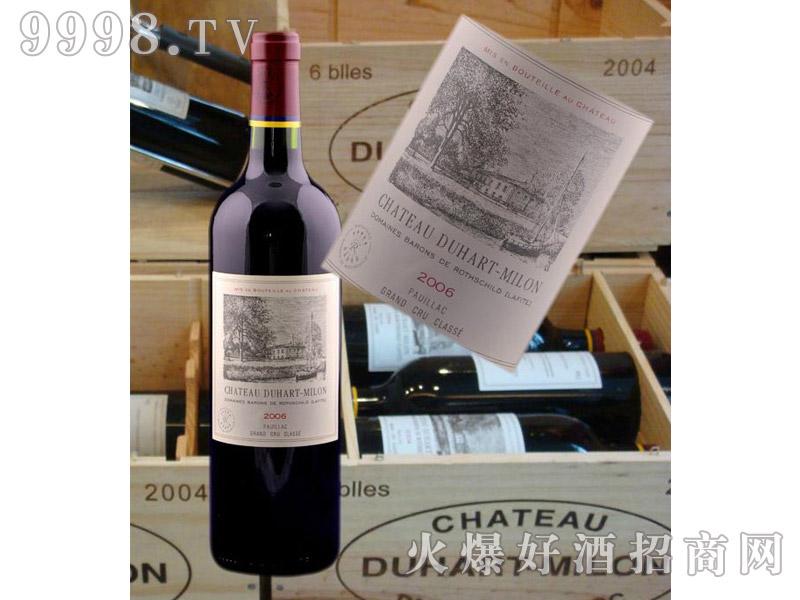 法国拉菲都夏美隆庄园干红葡萄酒