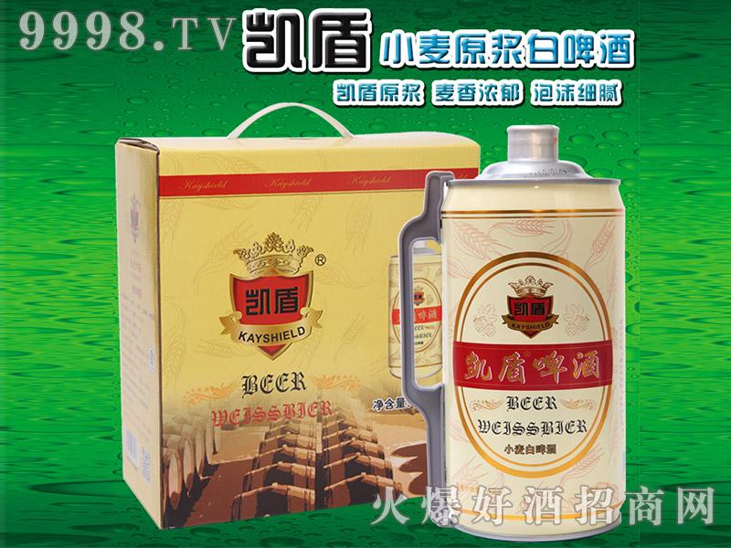 凯盾小麦白啤酒2L(箱)