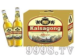凯撒宫啤酒330ml(白瓶)