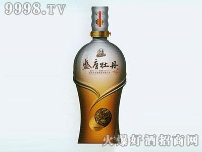 无锡喷涂彩瓶盛唐牡丹RJ-CP-038