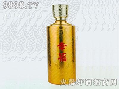无锡喷涂彩瓶幸福酒RJ-CP-069