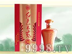 红色木黄酒30