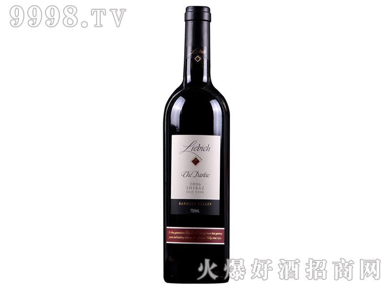 澳洲利比黑鬼老藤干红葡萄酒
