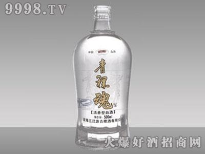 瑞升玻璃青稞魂酒瓶