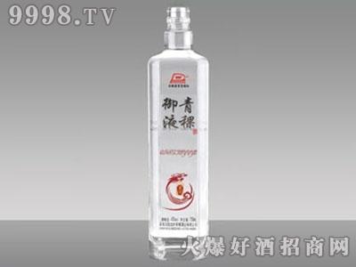 瑞升玻璃青稞御液酒瓶