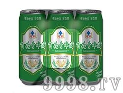 百花青啤酒易拉罐装500ml