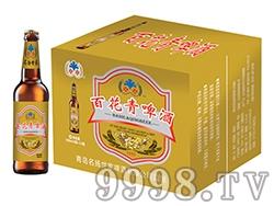 百花青啤酒瓶装330ml
