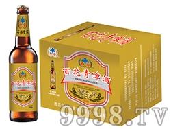 百花青啤酒瓶装500ml