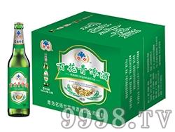 纯生百花青啤酒330ml
