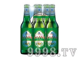百花青啤酒瓶装塑包330ml