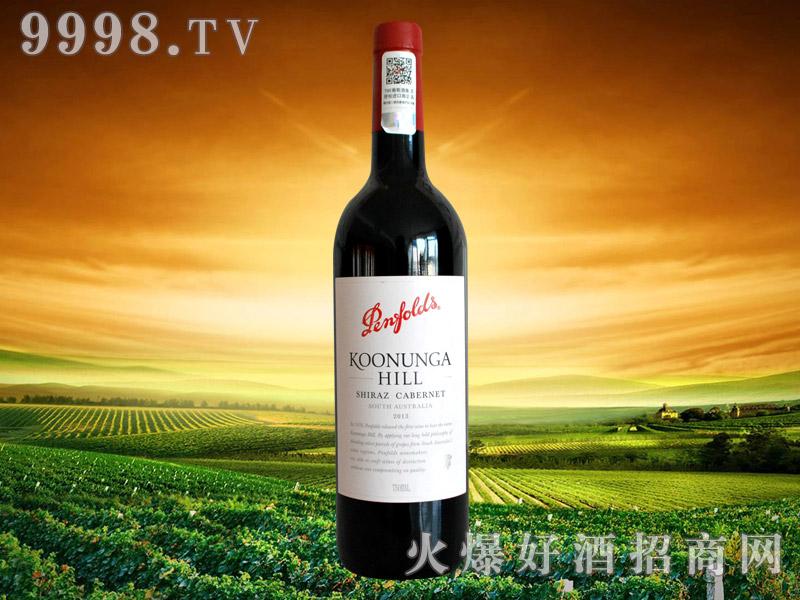 澳大利亚奔富寇兰山设拉子赤霞珠干红葡萄酒
