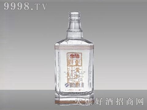 白玻璃瓶R-025刘500ml