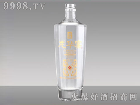 玻璃瓶酒瓶R-173龙华宴酒500ml