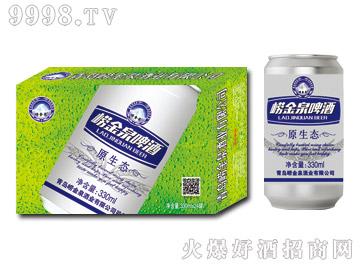 崂金泉原生态啤酒320ml(绿)