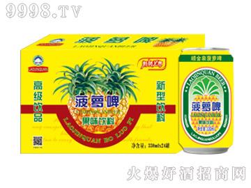 崂金泉菠萝啤320ml
