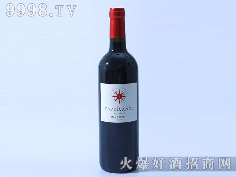 法国贺都之望干红葡萄酒