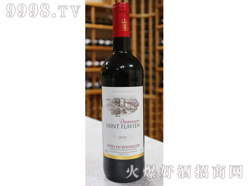 法国圣弗拉维恩干红葡萄酒