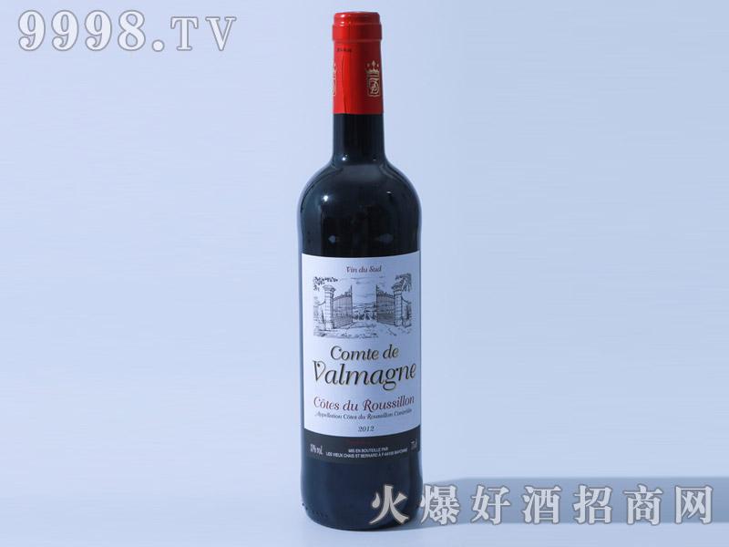 法国瓦尔马涅干红葡萄酒