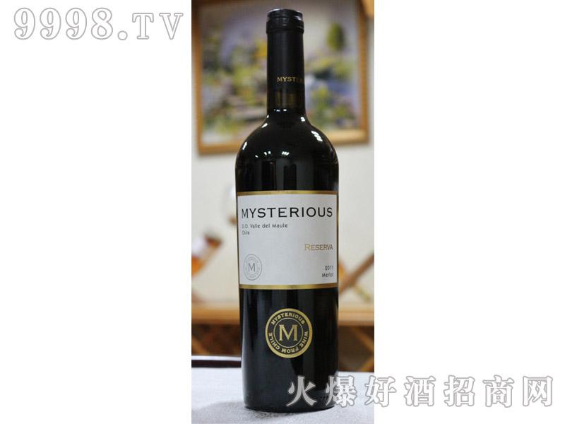 智利迈斯特梅洛珍藏级干红葡萄酒
