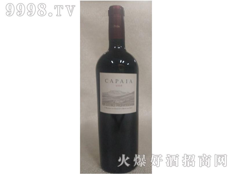 卡非2008干红葡萄酒
