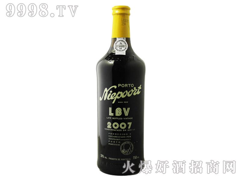 葡萄牙尼伯特晚装年份波特酒2008-LBV