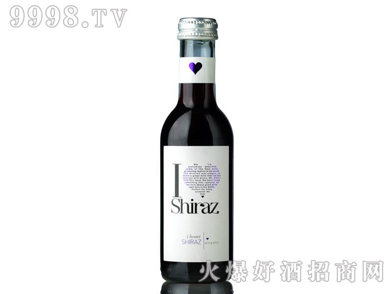 意大利爱嗨187ml西拉干红葡萄酒