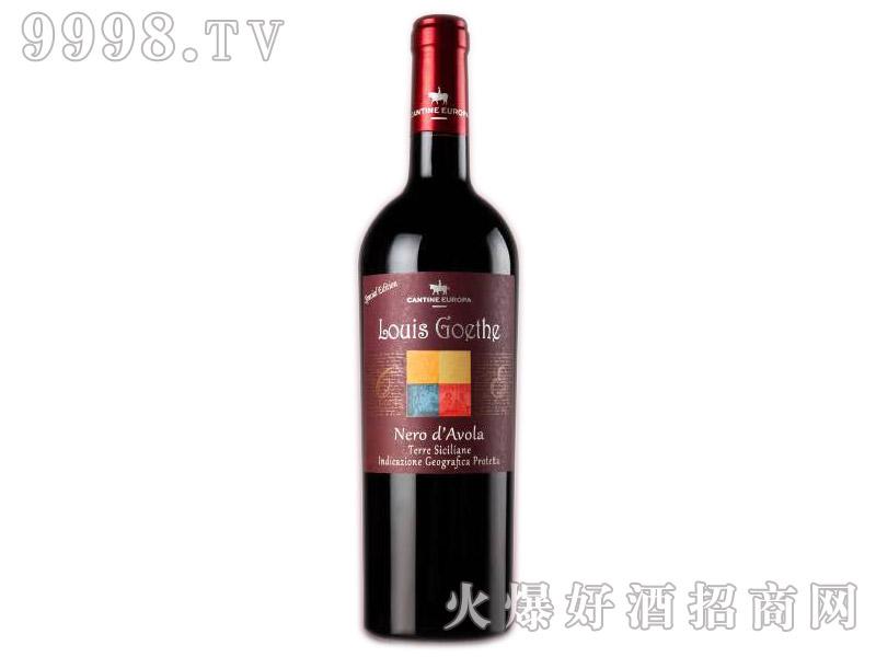 意大利路易黑达沃拉黑珍珠传奇干红葡萄酒