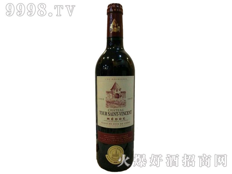 法国圣文森城堡干红葡萄酒