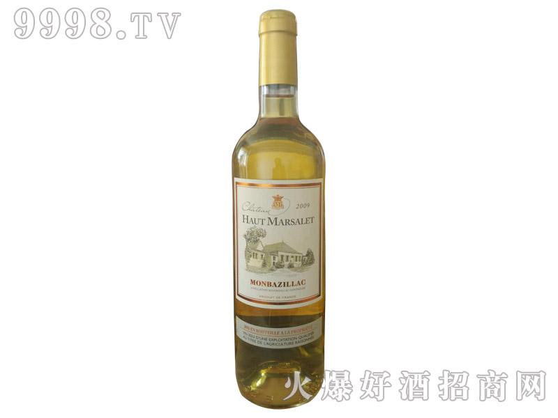 法国玛索城堡甜白葡萄酒
