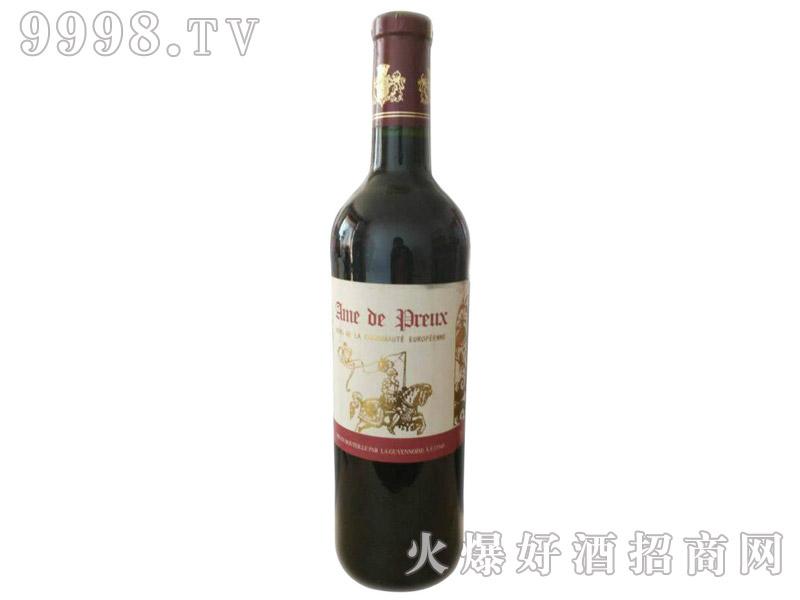法国骑士红葡萄酒