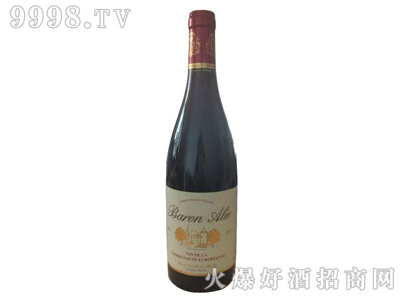 法国阿里那侯爵干红葡萄酒