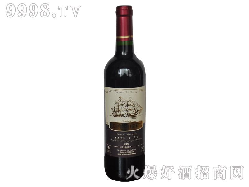 法国小龙帆干红葡萄酒