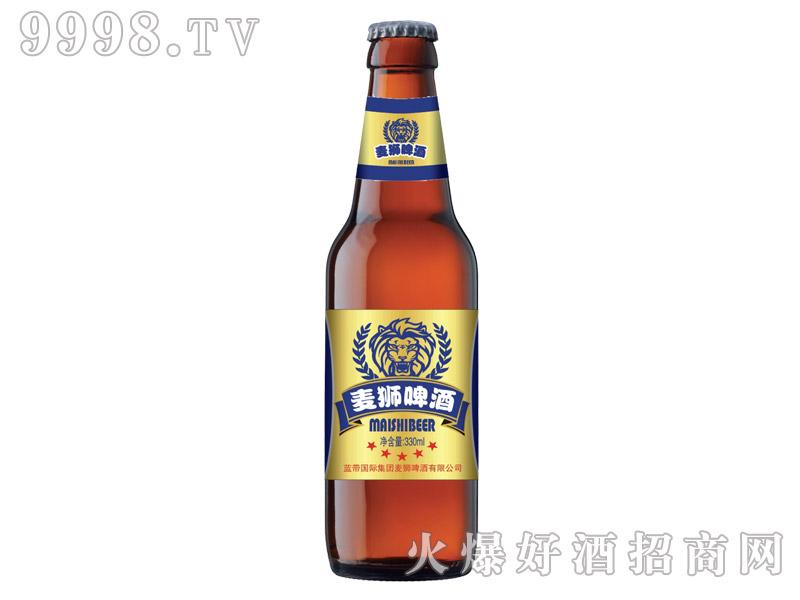 蓝带麦狮啤酒3.8°330ml