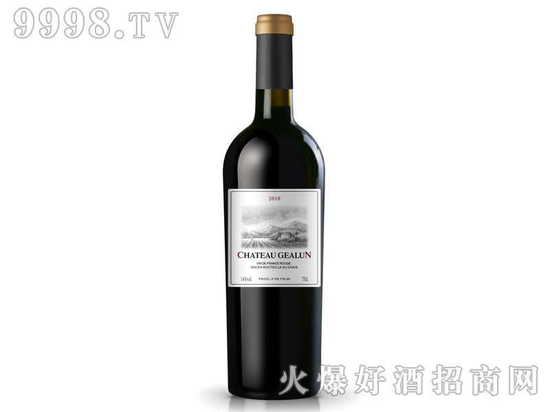 OEM赤霞珠干红葡萄酒2010